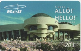 Canada Bell : Carte Allô ! / Hello ! Phone Pass 20$ : Musée Canadien Des Civilisations à Hull - Canada