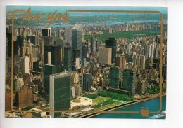 REF 289  : CPM U.S.A. New York Vue Aérienne - New York City
