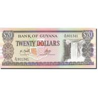 Guyana, 20 Dollars, 1989-1992, 1989, KM:27, NEUF - Guyana
