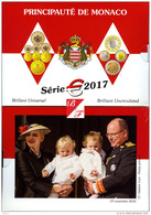 2017 MONACO BU 8 PIECES DU 2 EURO AU 1 CT 8 000 COFFRETS SOUS BLISTER - Autres
