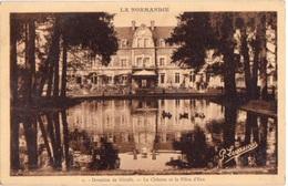 BELLOU EN HOULME (61) -  Le Château De Dieufit Et La Pièce D'eau - Editions  Levasseur 1 - 1934 - France