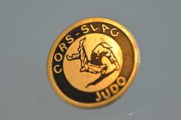 REF M5  : Pin's Pin  : Sport JUDO CORS SLAC - Judo