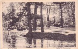 ALTE  AK   KLEVE - BAD  CLEVE /  NRW  - Partie Im Forstgarten -  1926 Gedruckt - Kleve