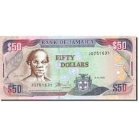Jamaica, 50 Dollars, 2003, 2004-01-15, KM:83b, NEUF - Jamaique