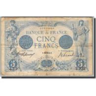 France, 5 Francs, 5 F 1912-1917 ''Bleu'', 1905, E.Picard-J.Laferrière, KM:70 - 1871-1952 Anciens Francs Circulés Au XXème