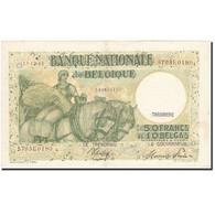 Belgique, 50 Francs-10 Belgas, 1933-1935, KM:106, 1944-12-13, TTB - [ 2] 1831-... : Regno Del Belgio