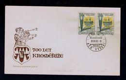 KROMERIZ 700 Years Agricole School 1963 Ceskoslovensko Riz Rice Corn Agriculture Gc2819 - Agriculture