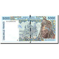 West African States, 5000 Francs, Undated (1992-2003), KM:113Ad, NEUF - West African States