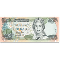 Bahamas, 1/2 Dollar, 2000, KM:68, 2001, NEUF - Bahamas