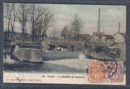 Carte Postale 10. Troyes Le Bouillon De Croncels  Trés Beau Plan - Troyes