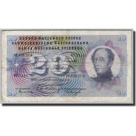 Suisse, 20 Franken, 1954-1976, KM:46f, 1958.12.18, TTB - Suiza