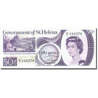 Saint Helena, 50 Pence, 1976-1979, Undated (1979), KM:5a, NEUF - Sainte-Hélène