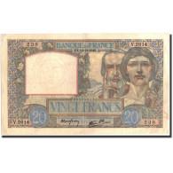 France, 20 Francs, 1940, 1940-12-19, KM:92b, TTB+ - 1871-1952 Circulated During XXth