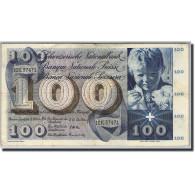 Suisse, 100 Franken, 1956-73, KM:49a, 1956-10-25, TTB - Suiza