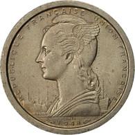 Madagascar, 2 Francs, 1948, Paris, ESSAIS, SUP, Copper-nickel, KM:E2 - Madagascar