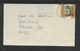 S.Africa, Domestic  Cover,6c NATIONAL SAVINGS Stamp, PIETERMARITZBURG 3.4.79 C.d.s.+ SAVE - USE TELEPHONE AFTER 8 PM - South Africa (1961-...)