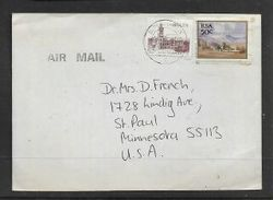 S.Africa,Air Mail To USA, 50ct, BLOEMFONTEIN 18. 12. ??0 C.d.s. + BUY CHRISTMAS STAMPS Slogan - Covers & Documents