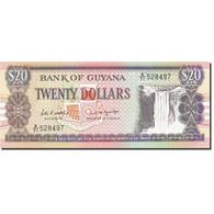 Guyana, 20 Dollars, 1966, 1989, KM:24d, NEUF - Guyana
