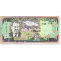 Jamaica, 100 Dollars, 1994, 1994-03-01, KM:76a, TTB - Jamaique