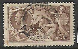 Great Britain, George V, 1934, 2/6 Seahorses, Re-engraved, Used - 1902-1951 (Kings)