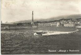 MESSINA ALISCAFO E MADONNINA  (473) - Messina