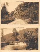 La Suisse Normande - Lot De 4 Cartes Non Circulées: Cerisy Belle-Etoile, Vallée De La Vère, Martinique... - France