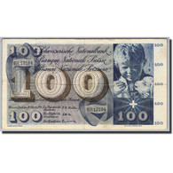 Suisse, 100 Franken, 1956-73, KM:49a, 1956-10-25, TTB+ - Suiza