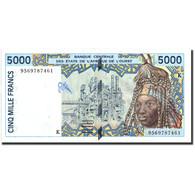 West African States, 5000 Francs, 1995, 1995, KM:713Kd, TTB+ - États D'Afrique De L'Ouest