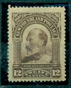 Kanada. New Foundland, König Georg V, Nr. 77, Falz * - Neufundland