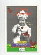 Publicité , 8 Pages , 2 éme Salon Régional Du CHOCOLAT Français ,Poitiers 1995 , Salons De Blossac , Frais Fr : 1.55 Eur - Advertising