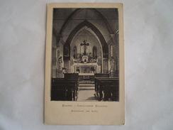 Eksaarde - Exaarde - Exaerde // Binnenzicht Kapel (Camillianen Klooster) Gelopen 1911 - Belgique