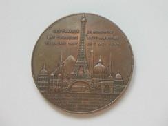 Très Belle Médaille -Souvenir De Mon Ascension Au 1er étage De LA TOUR EIFFEL 1889  **** EN ACHAT IMMEDIAT **** - Tourist