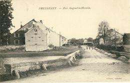 PRESSIGNY -- RUE  AUGUSTIN-MASSIN - France