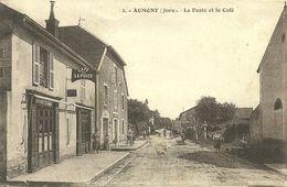 AUMONT  (Jura)  - La Poste Et Le Café - France