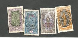 63 Et 3timbrestimbres  Oblitérés (clascamero) - French Congo (1891-1960)