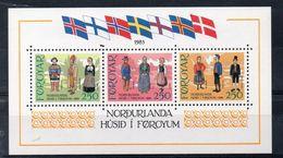 Iles FEROE  Timbres Neufs ** De 1983 ( Ref 607 A ) Costume Folklore - Féroé (Iles)