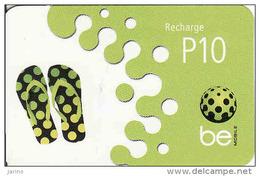 Botswana, P10, Be Mobile Recharge Card - Botswana