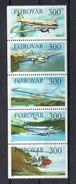 Iles FEROE  Timbres Neufs ** De 1985 ( Ref 607 E )  Transport  Avion - Féroé (Iles)