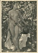 HDK647 - Mädchen Im Garten - Anton Lutz - Verlag Photo-Hoffmann München - Peintures & Tableaux