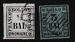 ROMAGNE - N° 1 & 3 - Tres Bon état - Romagna