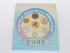 2002 Celebrate Beijing's Successful Bid For The 2008 Olympic Games Commemorative Banknote & Coins Set (WC-34) - China
