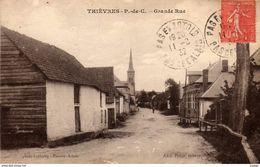 THIEVRES   Grande Rue    Carte écrite En 1932   2 Scans  Très Bon état - Francia