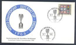 Germany 1966 Cover; Football Soccer Fussball Calcio; FIFA World Cup WM Weltmeisterschaft Mundial Jules Rimet Cup - Wereldkampioenschap