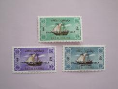 1965 Ras Al Khaima - Yvert 15/7  ** Bateaux  Ships  Scott Xx  Michel 27/9  SG Xx Fr. Roosevelt - Arabie Saoudite