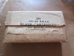 Empty WW1 U.S. Krag Rifle Blank Cartridge Box - 1914-18