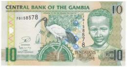 Gambia P 26 - 10 Dalasis 2013 - UNC - Gambia