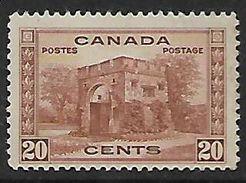 Canada,  George V, 1938 20c,, MH * - Unused Stamps