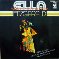 * LP *  ELLA FITZGERALD - WALKIN' IN THE SUNSHINE (England 1968) - Jazz