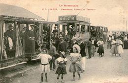 (46)  CPA  Canet  Perpignan Depart Du Tramway  (Bon Etat) - Canet En Roussillon
