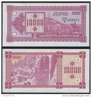 Georgia P 39 - 10000 10.000 Laris 1993 - UNC - Géorgie